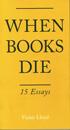 When Books Die